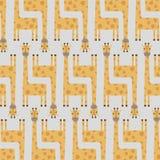 Achtergrond van giraf Vector Illustratie