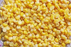Achtergrond van graan wordt gemaakt dat De achtergrond van het voedsel stock afbeelding