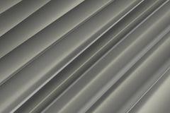 Achtergrond van grijze 3d abstracte golven Royalty-vrije Stock Foto's