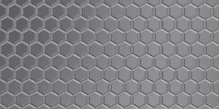 Achtergrond van grijze 3d vormen met hulp en brights Royalty-vrije Stock Afbeeldingen
