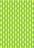 Achtergrond van groene gekleurde driehoeken Stock Afbeelding