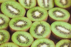 Achtergrond van groene kiwien Royalty-vrije Stock Foto