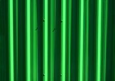 Achtergrond van groene zinkomheining, abstracte textuurachtergronden royalty-vrije stock fotografie