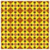 Achtergrond van het Abstrack de naadloze kleurrijke behang Stock Foto's
