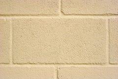 Achtergrond van het Blok van de room de Concrete Stock Afbeeldingen