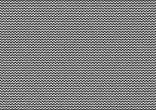 Achtergrond van het chevron de naadloze patroon in zwart-wit ontwerp Royalty-vrije Stock Foto