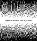 Achtergrond van het de gradiëntcentrum van de pixel de Abstracte technologie Bedrijfs zwarte witte mozaïekachtergrond met ontbrek Royalty-vrije Stock Afbeeldingen