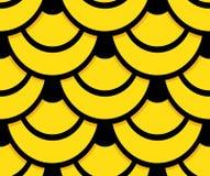 Achtergrond van het de huid de naadloze patroon van de slang Stock Afbeelding