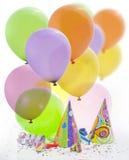 Achtergrond van het de verjaardags de nieuwe jaar van de partij Stock Foto