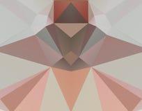 Achtergrond van het driehoeks de kleurrijke mozaïek Stock Afbeeldingen