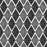 Achtergrond van het Frame van het Ontwerp van de Batik van Artisti de Bloemen vector illustratie