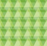 Achtergrond van het groen de Geometrische Patroon Royalty-vrije Stock Afbeeldingen
