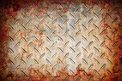 Achtergrond van het het metaalpatroon van Grunge de abstracte roestige Royalty-vrije Stock Fotografie