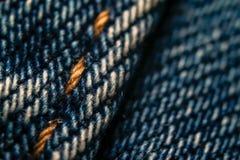 Achtergrond van het jeans de textielpatroon stock afbeeldingen