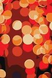 Achtergrond van het Mozaïek van de cirkel de Lichte Vector Illustratie