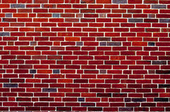 Achtergrond van het rode behang van de de textuurachtergrond van het bakstenen muurpatroon Royalty-vrije Stock Afbeelding