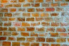 Achtergrond van het rood van de bakstenen muurtextuur royalty-vrije stock foto