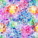 Achtergrond van het Sakura de naadloze patroon. Vector, EPS10 Stock Fotografie