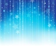 Achtergrond 1 van het sterrenthema Royalty-vrije Stock Foto