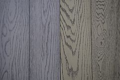 Achtergrond van houten die textuur, in grijze en blauwe tint wordt geschilderd royalty-vrije stock foto
