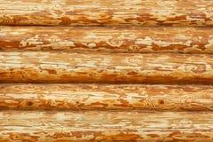 Achtergrond van houten muur Stock Fotografie