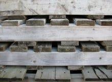 Achtergrond van houten pallets Royalty-vrije Stock Afbeeldingen