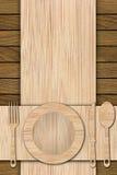 Achtergrond van houten planken wordt gemaakt die Stock Fotografie