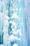 Achtergrond van ijs Stock Foto