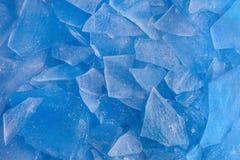 Achtergrond van ijs Stock Afbeelding