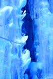 Achtergrond van ijs en ijskegels Royalty-vrije Stock Foto's