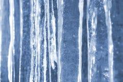 Achtergrond van ijskegels Stock Foto's
