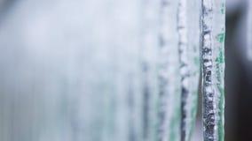 Achtergrond van ijskegels stock afbeeldingen