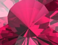 Achtergrond van juwelenhalfedelsteen robijn stock afbeelding