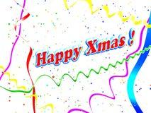 Achtergrond van Kerstmis van de vakantie de Gelukkige royalty-vrije illustratie