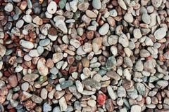 Achtergrond van kiezelstenen Stock Foto's