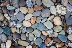Achtergrond van kleine stenen Stock Foto