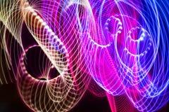 Achtergrond van kleuren de lichte absctract stock afbeelding