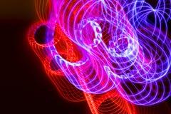 Achtergrond van kleuren de lichte absctract stock foto