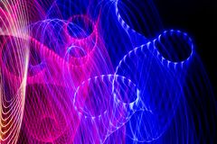 Achtergrond van kleuren de lichte absctract royalty-vrije stock afbeeldingen