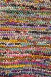 Achtergrond van kleurrijk tapijt Royalty-vrije Stock Afbeelding
