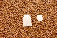 Achtergrond van koffiebonen royalty-vrije stock afbeeldingen