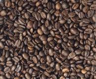 Achtergrond van koffiezaden Stock Afbeelding