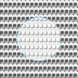 Achtergrond van kubussen royalty-vrije illustratie