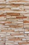 Achtergrond van kunstmatige steen wordt gemaakt die Royalty-vrije Stock Afbeelding