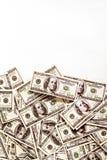 Achtergrond van $-100 met ruimte voor tekst Royalty-vrije Stock Foto