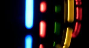 Achtergrond van motie de abstracte kleurrijke lichten Royalty-vrije Stock Afbeeldingen