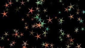 Achtergrond van multi-colored sterren Abstract patroon als achtergrond vector illustratie