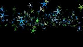 Achtergrond van multi-colored sterren Abstract patroon als achtergrond royalty-vrije illustratie