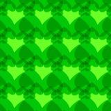 Achtergrond van naadloos hartenpatroon vector illustratie