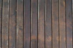 Achtergrond van natte houten raad Geweven vloer op hoogste mening royalty-vrije stock foto's